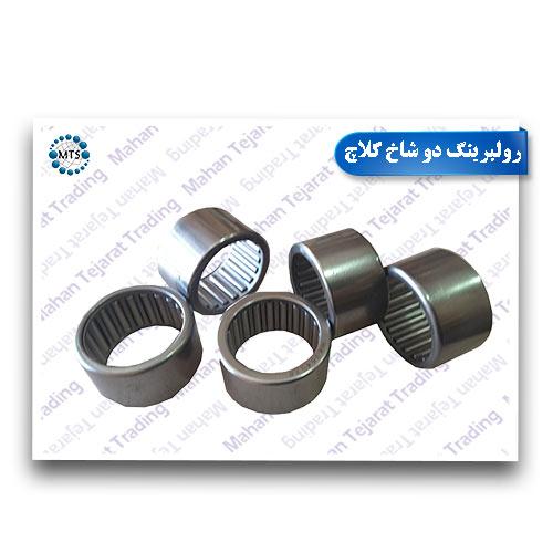 Two-horn clutch roller bearings