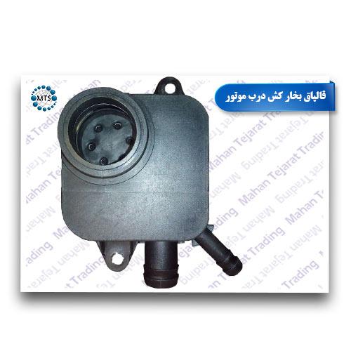 Engine door steamer cap